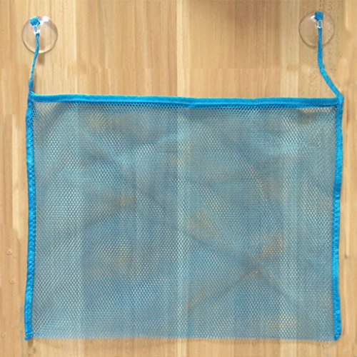 Beaums Baby Bath Toy Organizer Holder Toddler Bathtub Mesh Net Newborn Bath Bag Pouch Kids Storage Bin with Suction Hooks