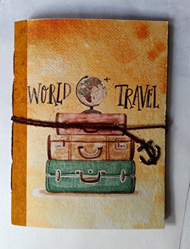 SPcreation Travel handmade Handicraft Diary(12.7cm x 17.78 cm)(94 pages)