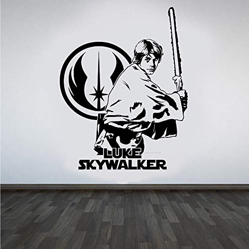 Profile-nagel-trockner (xinyouzhihi Jedi Luke Skywalker DIY Wandkunst Aufkleber Design Wandaufkleber Für Jungen Schlafzimmer Abnehmbare Vinyl M 58 x 75 cm)