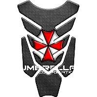 Tankpad Motorad Draht Muster Tankschutz KOMPATIBEL Polymer ,,Umbrella Corporation v1,,