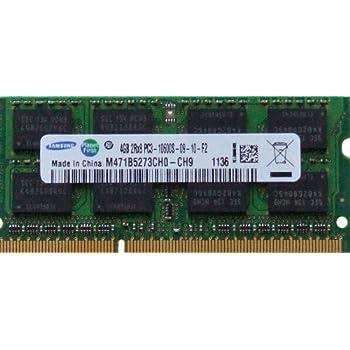 Samsung 4GB DDR3 1333MHz Unbuffered SODIMM 4GB DDR3 1333MHz módulo de - Memoria (4 GB, 1 x 4 GB, DDR3, 1333 MHz, 204-pin SO-DIMM)