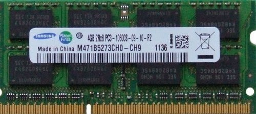 Samsung 4 GB DDR3 1333 MHz unbuffered