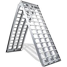 Rampa de carga aluminio ConStands V, max. 680 kg, plegable, por Moto