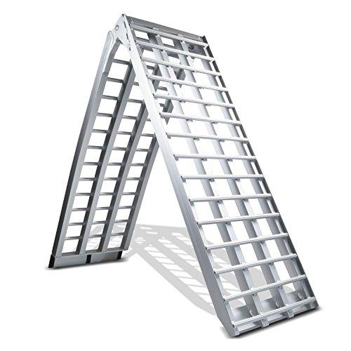 Rampa de carga aluminio ConStands V, max. 680 kg, plegable, por Moto,...