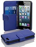 Cadorabo Hülle für Apple iPhone 5 / iPhone 5S / iPhone SE, Blau