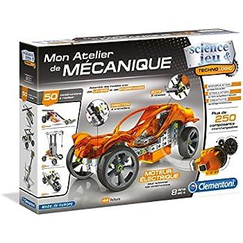 Clementoni Course Mècanique 52301 De Bolides Atelier TclFJK1