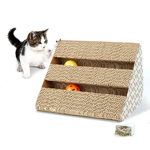 Hengu Juguete Rascador para Gatos
