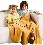 Bocasa by biederlack Home blanket yellow size 150x200 cm
