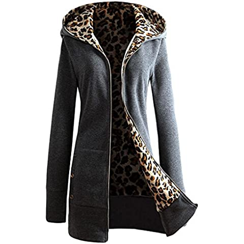 Le donne Plus size cappotto, FEITONG velluto
