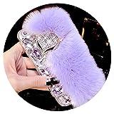 Fashion Lapin Fourrure de Lapin en Peluche pour iPhone 8 7 6 6S Plus Couverture de...