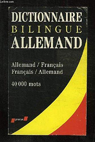 Dictionnaire de poche allemand : Allemand-français, français-allemand
