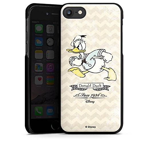Apple iPhone 6s Silikon Hülle Case Schutzhülle Disney Donald Duck Vintage Fanartikel Geschenke Hard Case schwarz