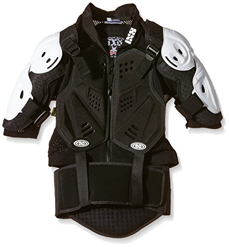 IXS Erwachsene Body Armour Hammer Jacket, White, M/L, IX-PRT-8400
