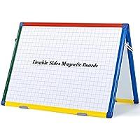 SwanSea Tablas magnéticas de Tablero seco de la planificación de la combinación de la pizarra seca con el marco colorido,60 x45cm