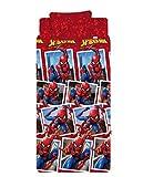 Marvel Completo Letto, Rosso, 1 Piazza e Mezza