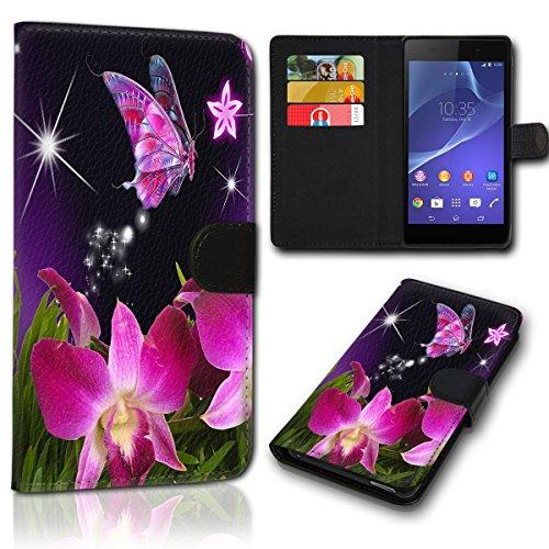 sw-mobile-shop Book Style Wiko Wim Lite Tasche Flip Brieftasche Handy Hülle Kartenfächer für Wiko Wim Lite - Design Flip SVH1176