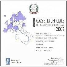 Gazzetta ufficiale della Repubblica Italiana (2002) (versione multiutenza). DVD