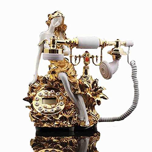 Kategorie Telefon (MEICHEN Retro Nachgemachtes Antikes Retro- Telefon des Retro- Telefons des Nachdenklichen Kreativen Telefons des Retro- Antiken Telefons)