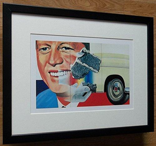 aufgezogen und gerahmt Pop Art Print–30,5x 40,6cm Rahmen, Pop Art Print, Präsident Wahl von James Rosenquist (James Rosenquist Künstler)