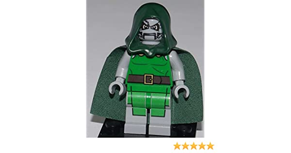Hood from set 76005 for Super Heroes Minifigure BRAND NEW Doom Head Lego Dr