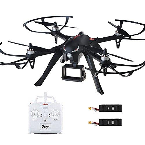 Preisvergleich Produktbild MJX B3 Bugs Profi Drohne mit Actionkamera-Halterung für Gopro Bürstlose Motoren 6A Elektrizitätsregulierung 2.4G 4CH 6-Achsen Gyro 3D Rollen Drone für Profi / Einsteiger Training ohne Gimbal und Kamera