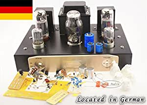 EL34 Single-Ended pure classe A amplificateur à tube Röhrenverstärker Kit HIFI DIY12W * 2