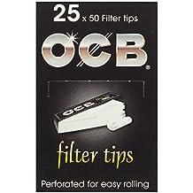 OCB 9001 Filter Tips 25 Heftchen, 50 Blatt