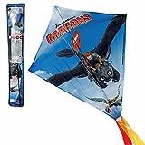 Worlds Apart Flugdrache Hicks & Ohnezahn | 55 x 60 cm | DreamWorks Dragons | Drachenflieger