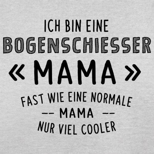 Ich bin eine Bogenschiesser Mama - Herren T-Shirt - 13 Farben Hellgrau