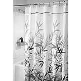 "Best Home Fashion 72 Longs - InterDesign Anzu Fabric Shower Curtain - Long, 72"" Review"