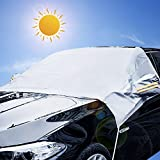 iZoeL Auto Parabrezza Neve Copertura Inverno Copri Parabrezza Invernale Antighiaccio Anti-Gelo Per Berlina SUV Camion