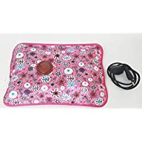 Torix Pink color Rechargeable Electric Hot Water Bottle bag Hand Warmer Heater Bag Small Portable for Winter