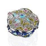 H & D Jewelry Box Dekorative Aufbewahrungsbox für Schmuck Herzliches