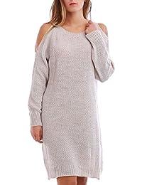 La Modeuse - Robe pull à col rond