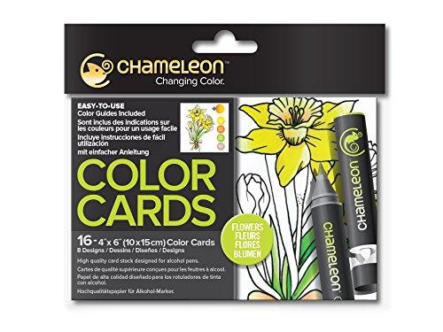Chameleon Motivkarten - Blumen