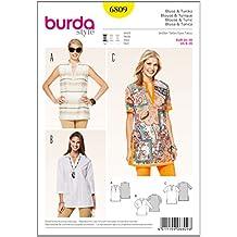 Patrón Burda 6809 Blusa y túnica