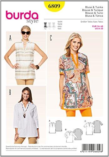 burda-b6809-patron-de-blouse-et-tunique