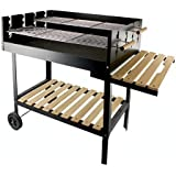Galileo Casa 2160818 Barbecue a Carbonella con Pannello Antifuoco