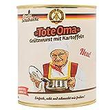 Original Schulküche 'Tote Oma' Grützwurst mit Kartoffeln - DDR Kultprodukte