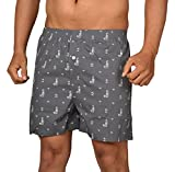 #8: The Cotton Company Men's Cotton Printed Boxer Shorts