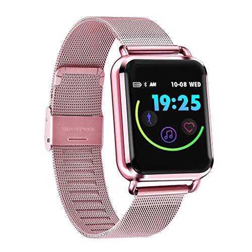 TianranRT Q3 Smart Watch Impermeabile Con Pedometro Pressione Ossigeno Ossigeno Sport Smartwatch (Rosa)