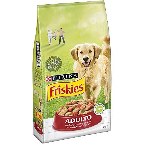 Purina Friskies Pienso para Perro Adulto Buey