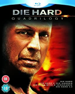 Die Hard Quadrilogy [BLU-RAY] (B001H493LU) | Amazon price tracker / tracking, Amazon price history charts, Amazon price watches, Amazon price drop alerts