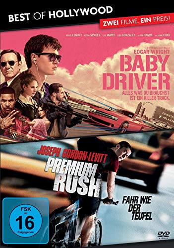 BEST OF HOLLYWOOD - 2 Movie Collector\'s Pack 180 (Baby Driver / Premium Rush) [2 DVDs]