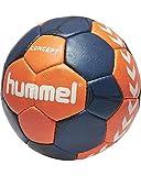 Hummel Erwachsene Concept Handball, Nasturtium/Ombre Blue/White, 3