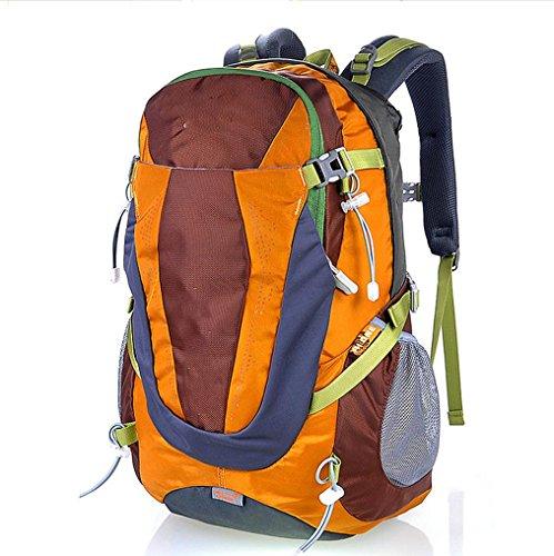 BUSL Outdoor-Sport Männer und Frauen reisen Rucksack Bergsteigen Taschen Orange