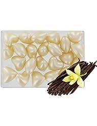 Boîte de 24 perles d'huile de bain fantaisies - Cœur parfum vanille