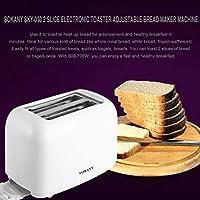 Footprintse SOKANY SKY-030 2 rebanadas de tostadora electrónica Máquina para Hacer Pan con 6