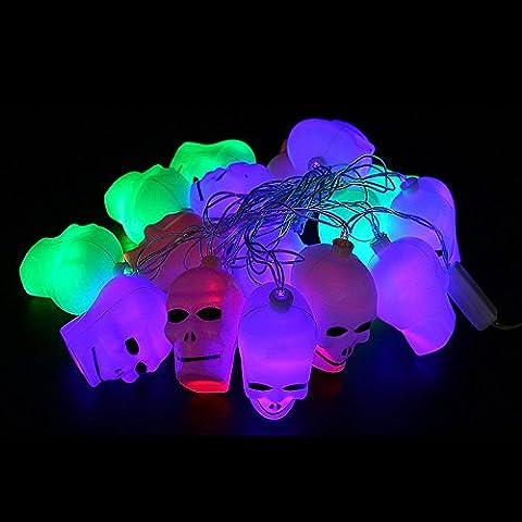 Gaddrt Halloween Pumpkin Indoor LED Fairy Lights,Pumpkin String Lights,Skull Skeleton