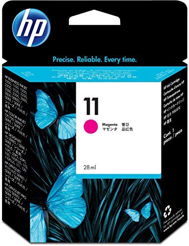 Hewlett-Packard 11 Tintenpatrone Magenta, 2550 Seiten - Hp 11 Cyan Patrone